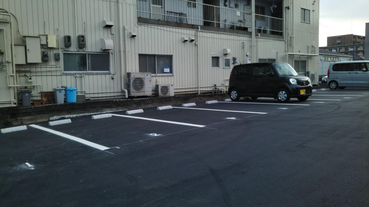 """""""第二駐車場のお知らせ・・・。"""